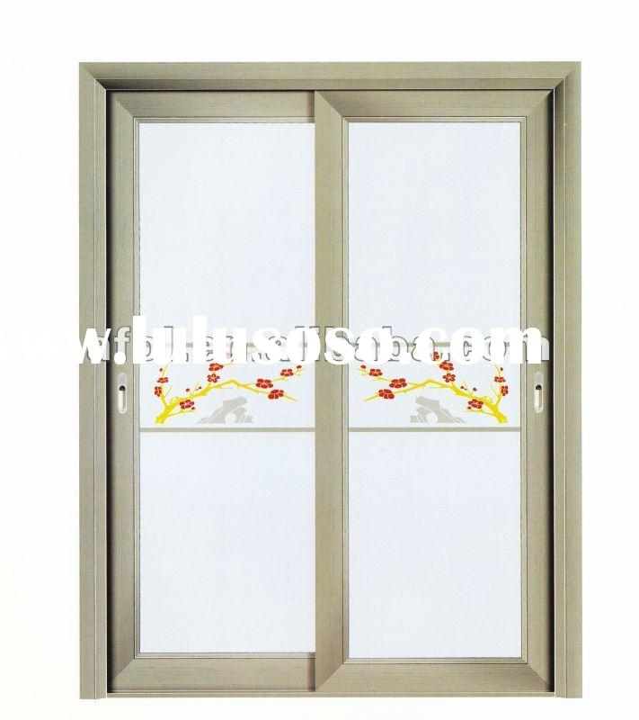Bathroom Door with Frosted Glass 711 x 800