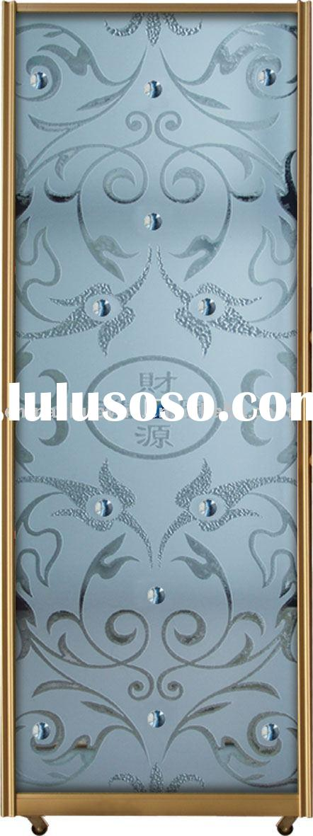 frsoted glass panel,interior glass door