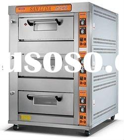 gas deck oven, bread oven, baking oven - 6BS