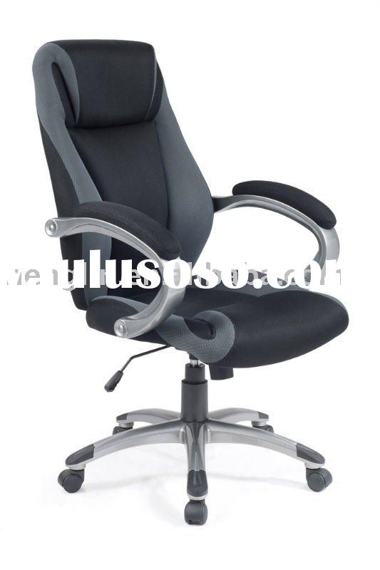 high back double mesh with powder coating armrest and base office manager chair