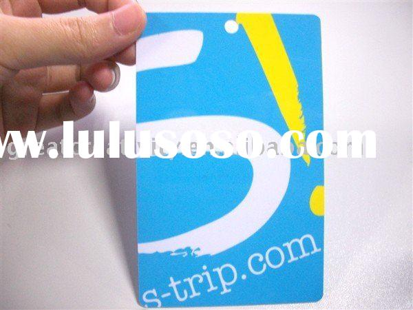 high taste pvc membership card/VIP card