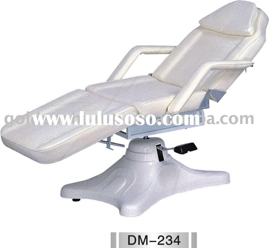 hydraulic facial chair,beauty bed,massage table,facial massage chair,portable facial bed