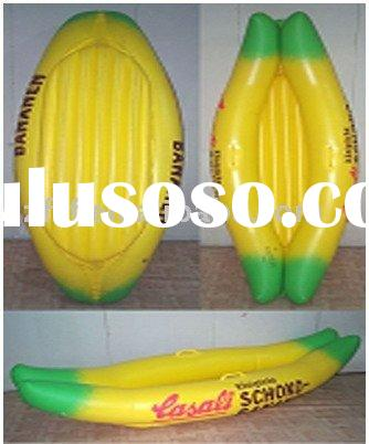 infaltable banana boat,inflatable banana float,inflatable banana raft