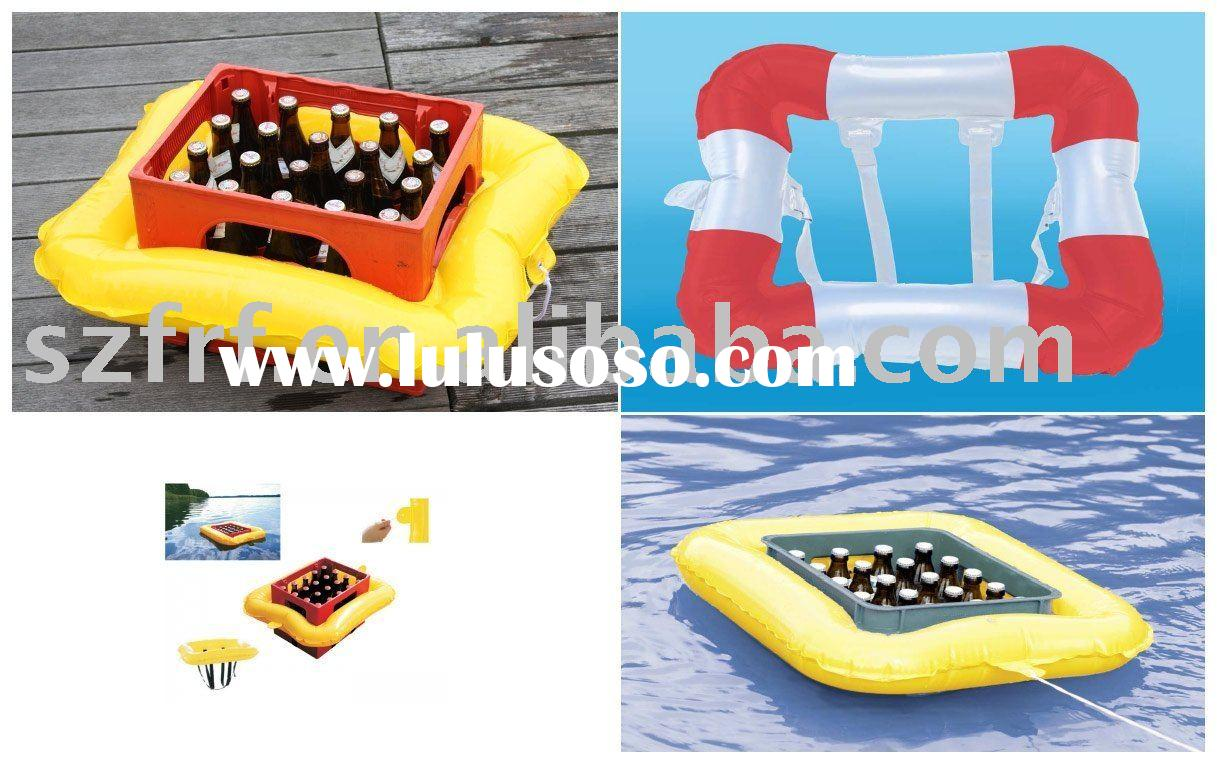 Inflatable Beer Crate Float,inflatable Beer Float Cooler,inflatable Beer  Cooler Float Crate