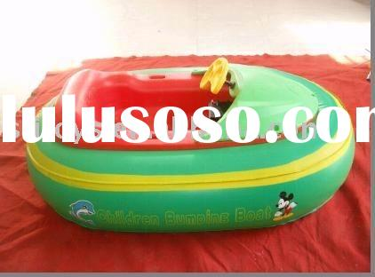 inflatable bumper boat with rechargeable battery pop in USA