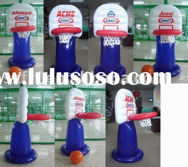 inflatable kids basketball set;inflatable basketball game,inflatable basketball hoop,inflatable bask