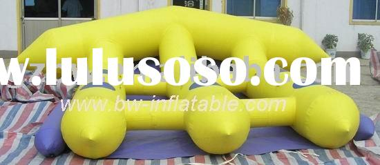 inflatable water games/inflatable banana boat/sports inflatable products