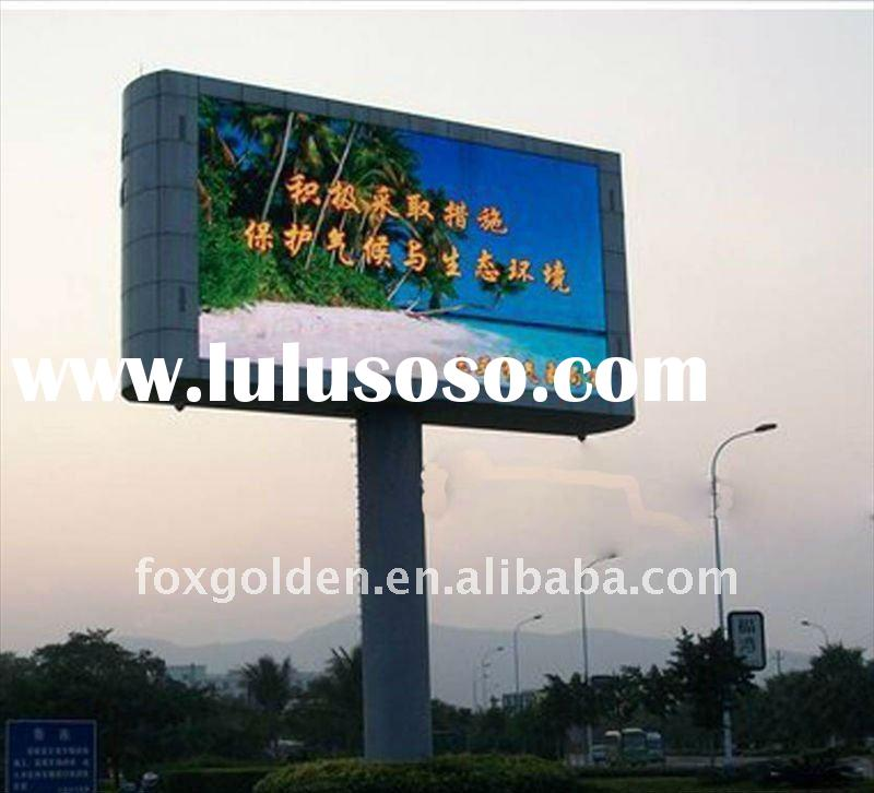 innovative Most popular products waterproof led outdoor advertisement board