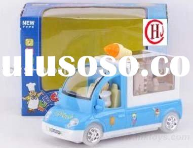 intelligent toy, educational toy, Electronic snack car, electronic baby toys baby play car HJ2306079