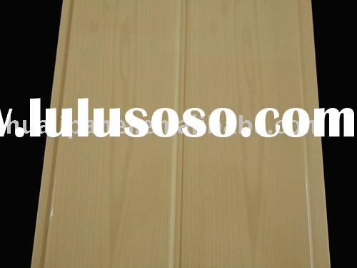 interior wooden pattern decorative fireproof wall panel