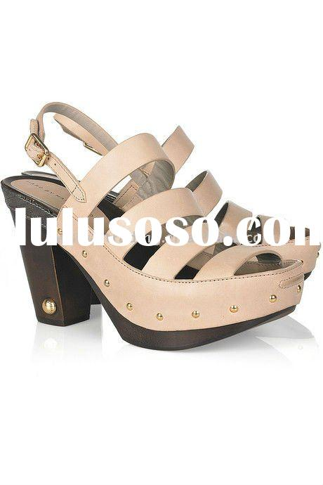 ladies fashion sandal 2011 summer ladies shoes high heels