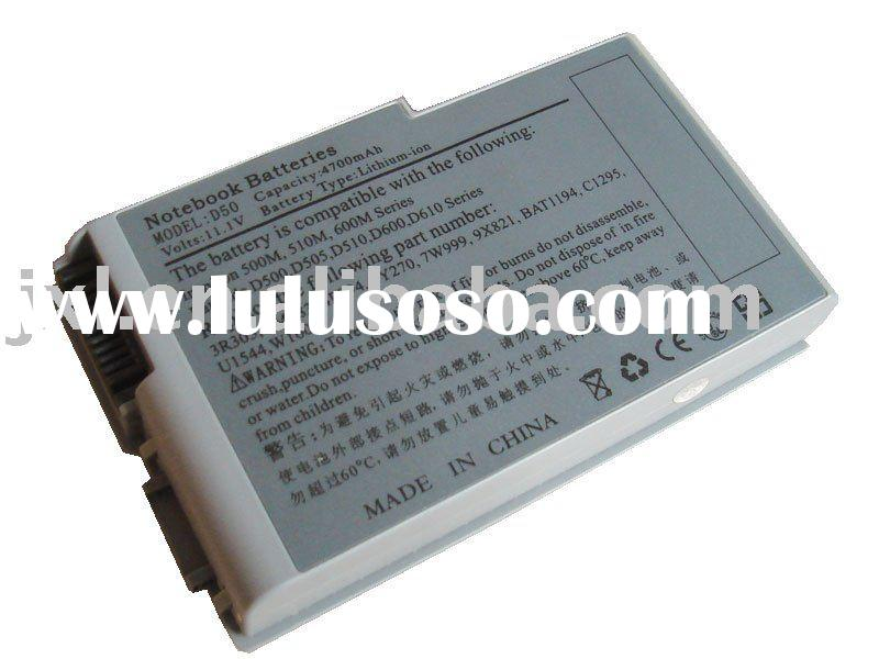 laptop battery/battery for Dell Latitude D500 D510 D600 D610 3r305 1x793 312-0068 315-0084 312-0191