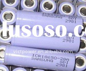 li-ion battery cell panasonic cgr18650 2350mAh battery cell 3.7V batteries cells