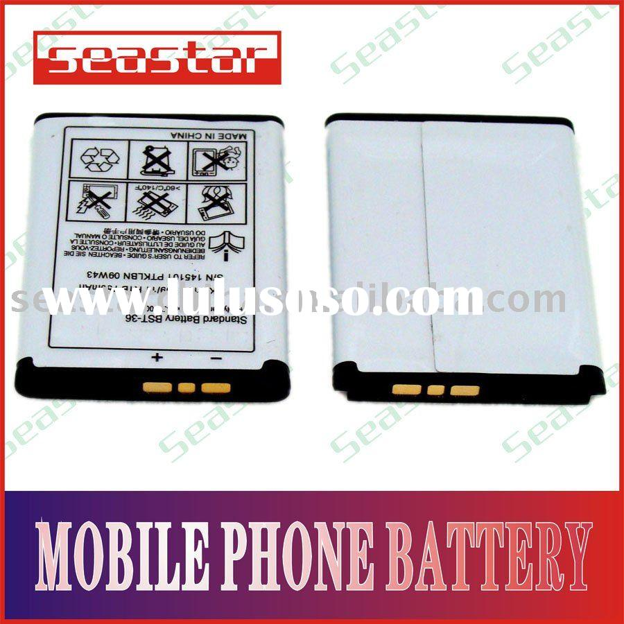 li-ion mobile phone battery for songericsson k310 accept paypal