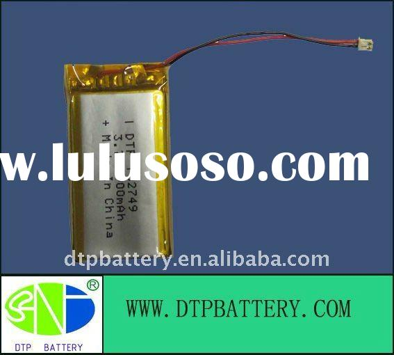 li polymer battery,Rechargeable batteries,3.7V 900mAh