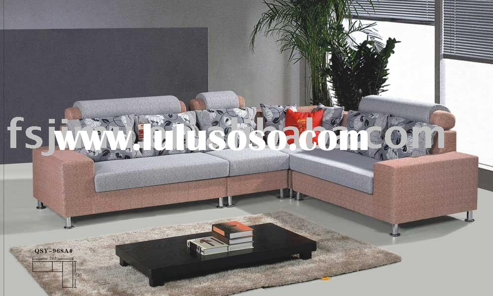 living room furniture italian comfortable linen fabric sofa