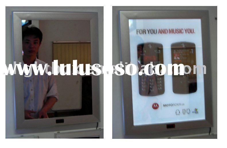 magic Mirror Light Box/ advertising magic display