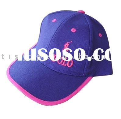 manufacture polo caps and baseball cap