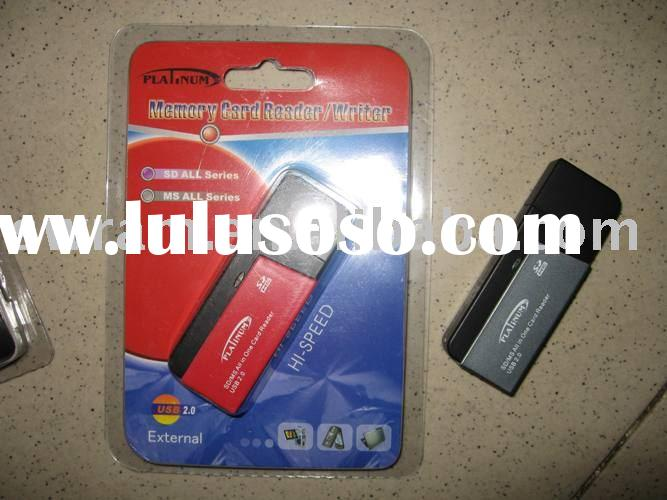 memory card reader SD/MS all in one card reader