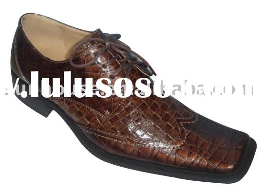 men's dress shoes men's pu shoes