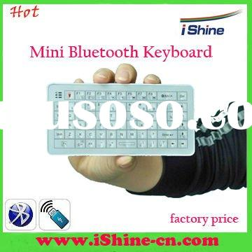 mini laser backlight bluetooth wireless keyboard with touch-pad