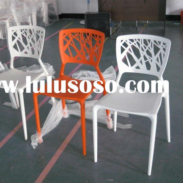 modern design white stackable plastic leisure chairs TSC-CT307