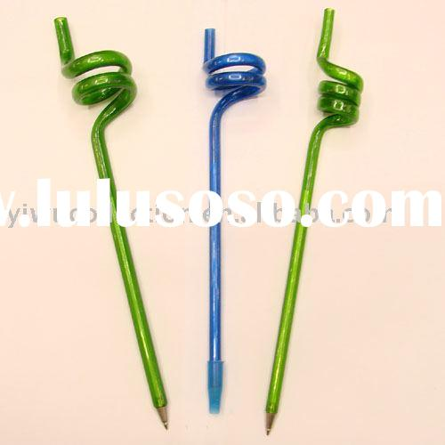 novelty items,bent ball pen,advertising items,promotional items,promotional ball pens