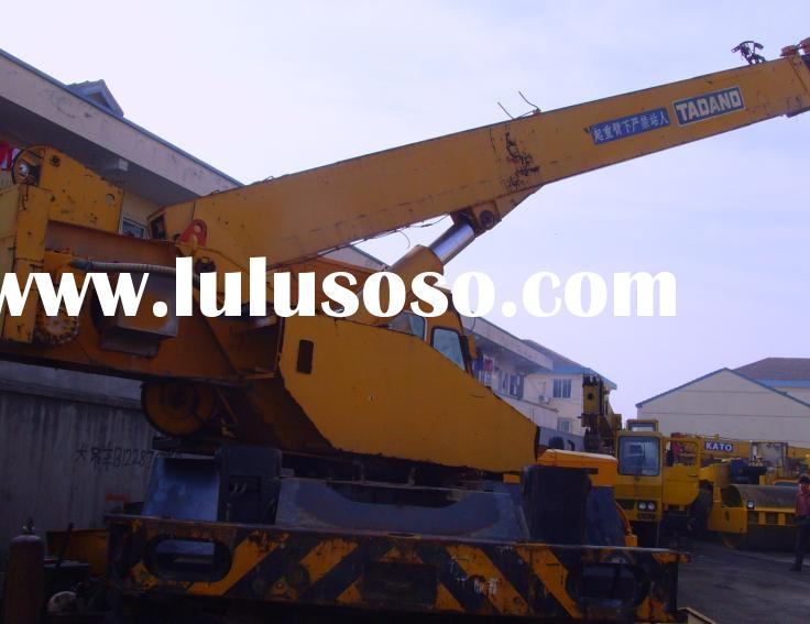 offer used TADANO rough terrain crane TR200M 20 tons in good condition, mobile/mounted/truck crane