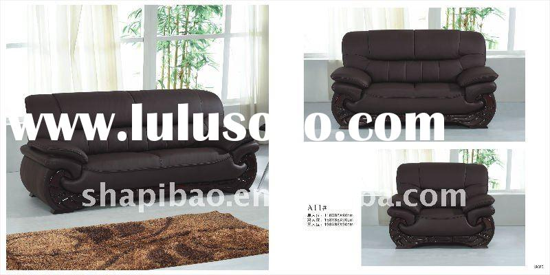 office sofa furniture leather sofa 1+2+3