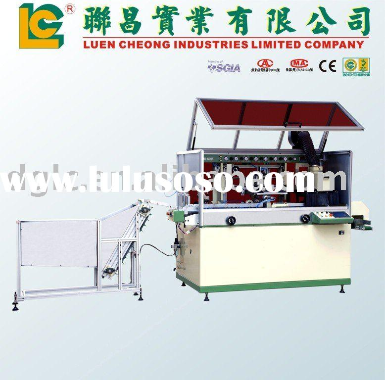 one Color Full Auto Screen Printing Machine for silicon sealant Bottle