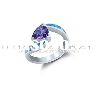 opal and tanzanite ring, manufacturer of opal jewerly,turquoise jewelry,onyx jewelry, coral jewelry