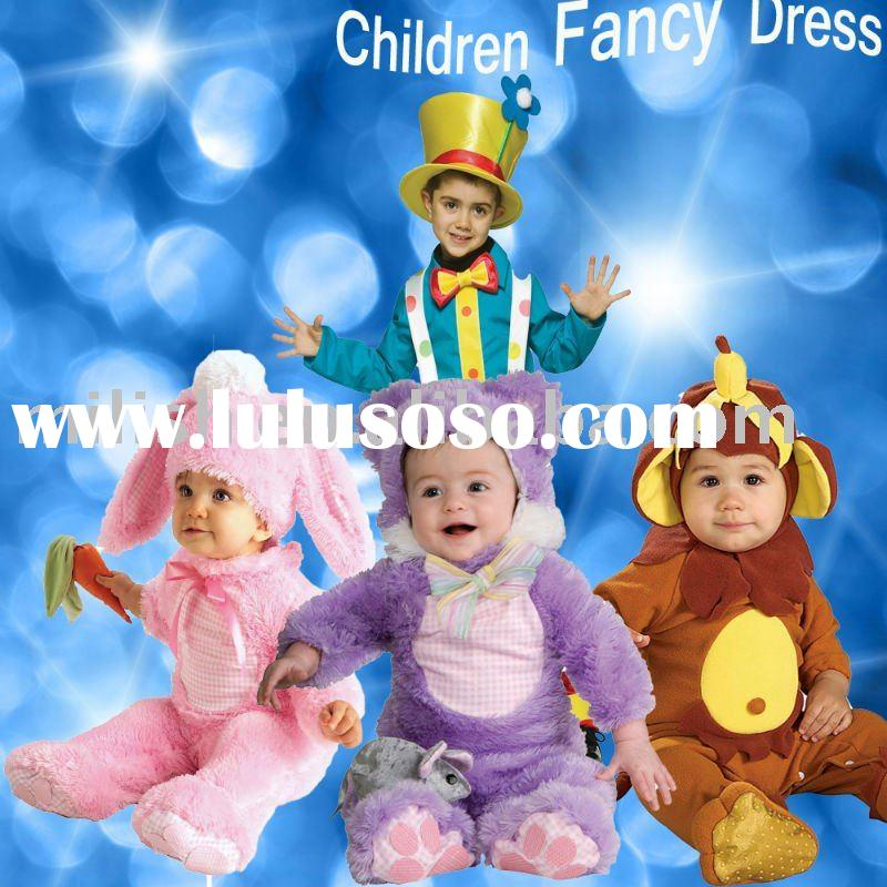 party fancy children baby animal costume dress for halloween/carnival