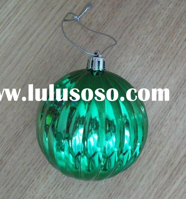 plastic christmas ball for chrismas tree ornament