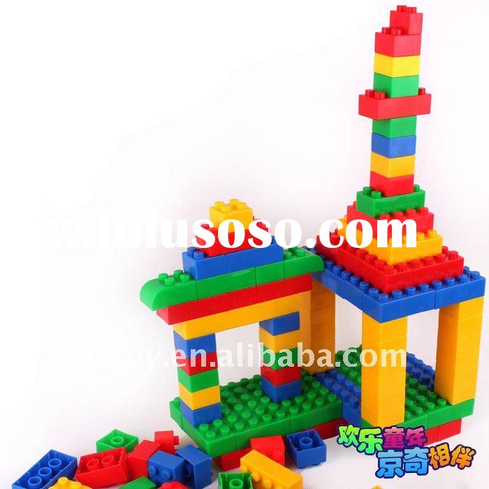 plastic construction bricks building blocks toy