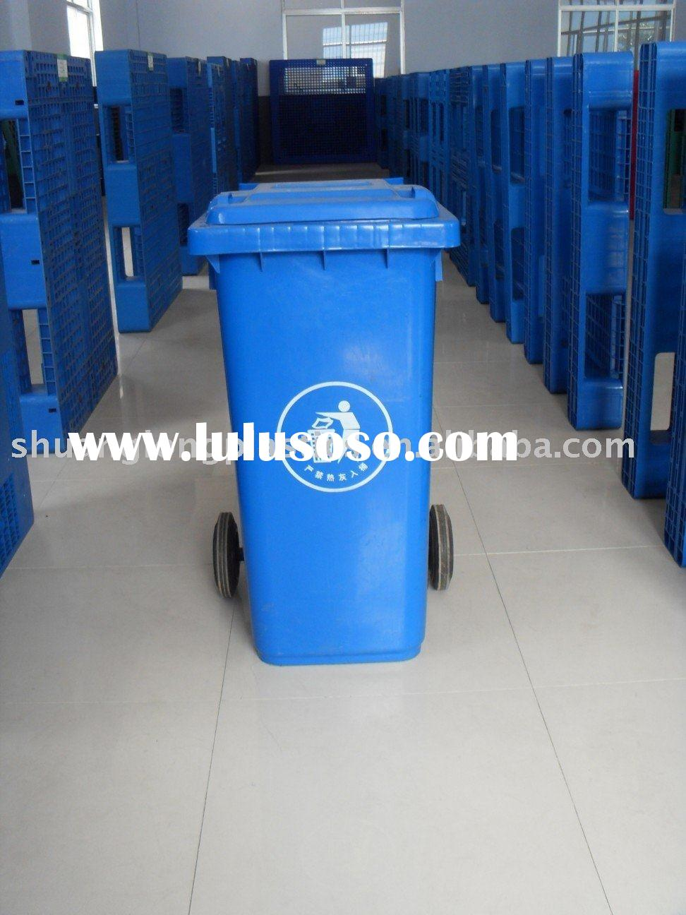 plastic garbage containers,plastic waste bins