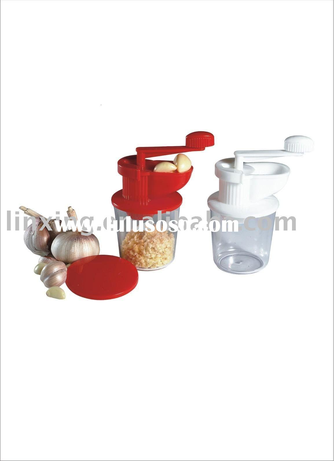 plastic handed garlic press ,Manual Blender ,food processor .Multi-function Blender