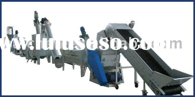 plastic recycling machine for PET bottle