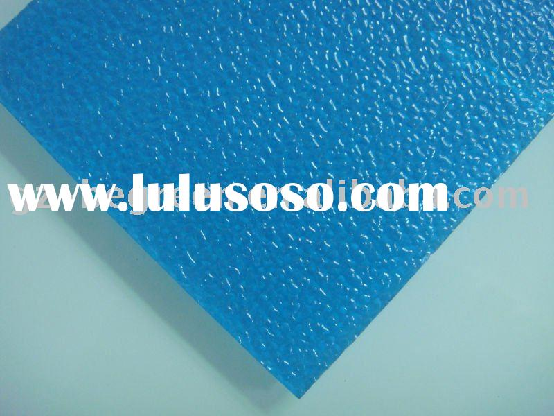 polycarbonate embossed sheet, polycarbonate sheet, plexiglass, plastic board, plastic panel,PC solid
