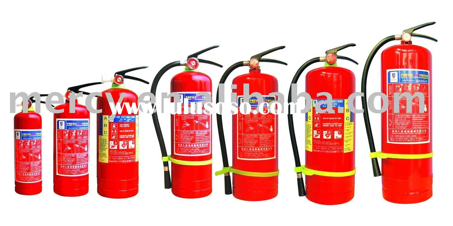 portable ABC/BC dry powder fire extinguisher