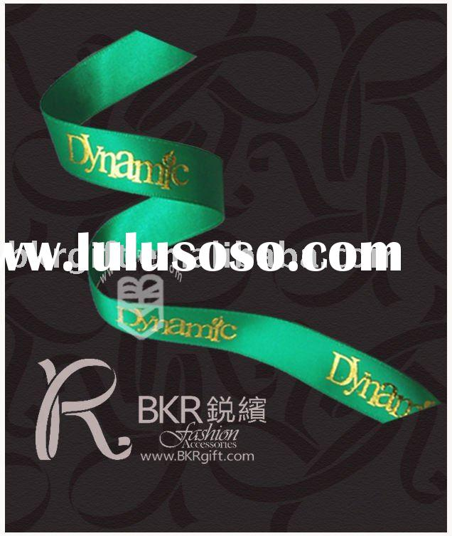 printed ribbon Printed satin ribbon