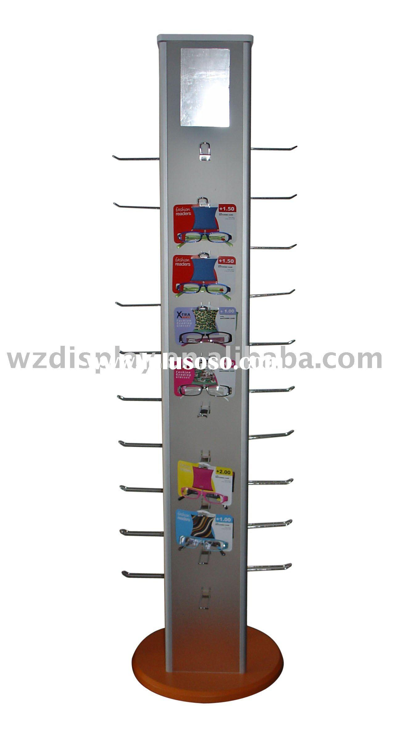 reading glasses display stand