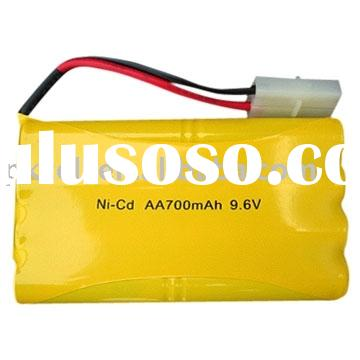 rechargeable battery pack (Nicd AA 500mah)