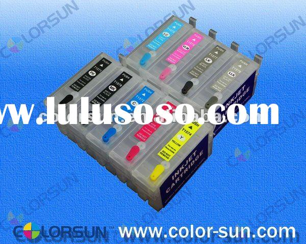 refill ink cartridge with ARC chip for Epson Stylus Photo R2000 T1590-T1599