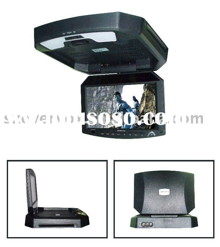 roof mounting TFT LCD monitor digital portable car dvd