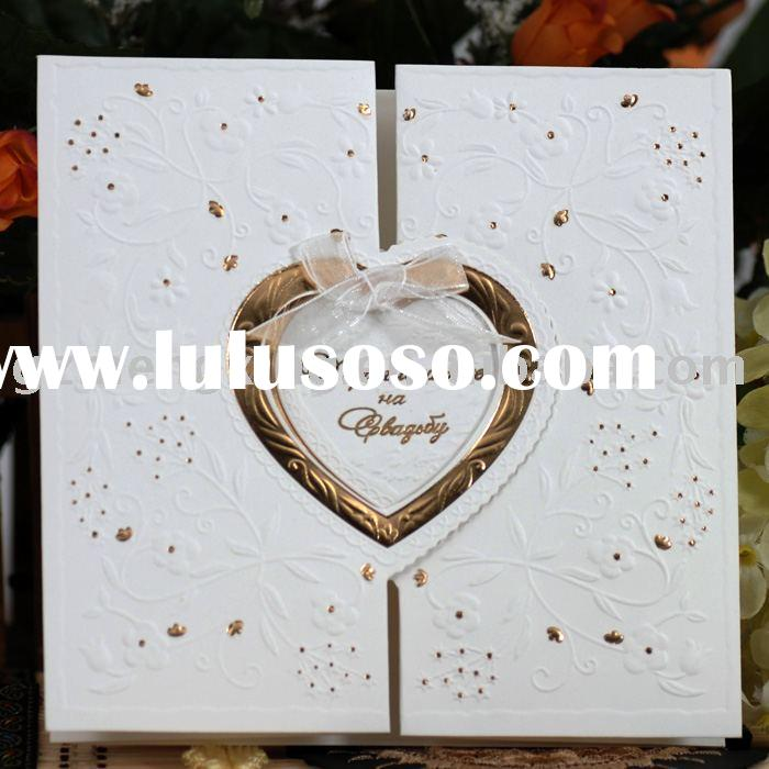 royal beautiful wedding invitation cards wedding decorations wedding favor wedding accessories