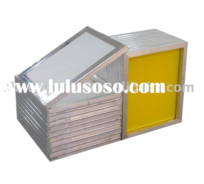 screen printing frames,aluminum pre-stretched frames,aluminum screen frames