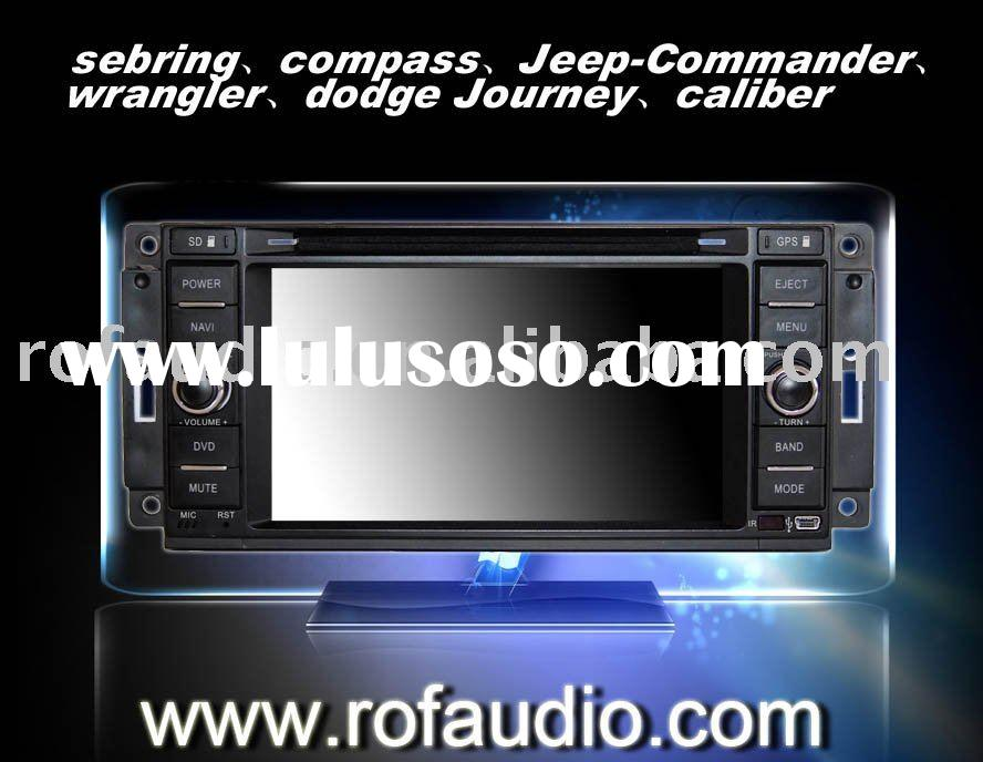 sebring,compass,Jeep-Commander,Wrangler,dodge Journey,caliber car dvd player with gps