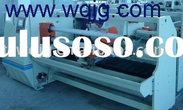 sell double shaft adhesive tape jumbo roll cutting machine(wq-703)