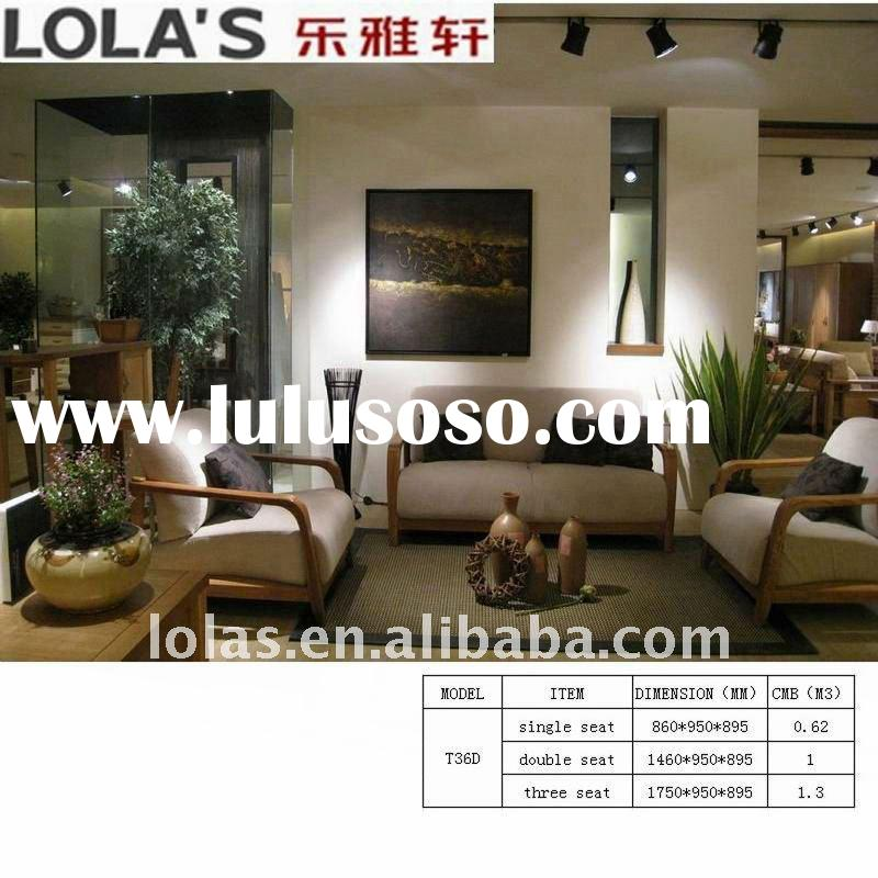 sell well good quality fashion wood frame fabric sofa