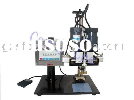 semi automatic bottle capper